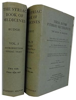 "Syrian Anatomy, Pathology and Therapeutics or ""The: Budge, E. A."