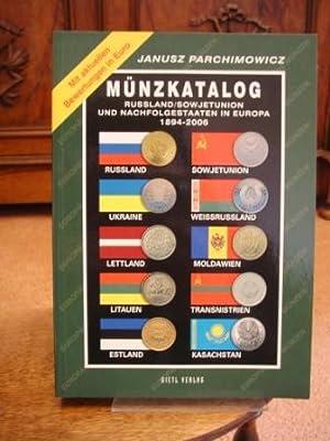 Münzkatalog Russland, Sowjetunion und Nachfolgestaaten in Europa: Parchimowicz, Janusz: