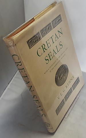 Cretan Seals. With a Catalogue of the: KENNA, V.E.G.