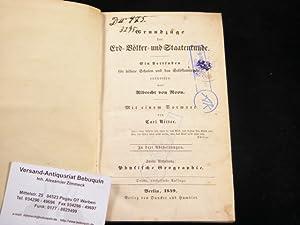 Physische Geographie. Vorwort von Carl Ritter.: GEOGRAPHIE.- ROON, Albrecht von: