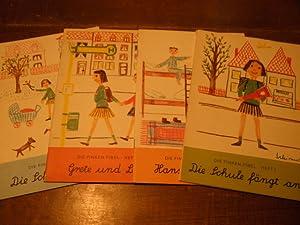 Heft 1: Die Schule fängt an / Heft 2: Hans und Peter / Heft 3: Grete und Leni / Heft 4: Die Schule ...
