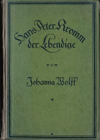 Hans Peter Kromm der Lebendige: Wolff, Johanna