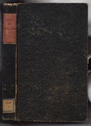 Blätter für Rechtsanwendung zunächst in Bayern. I. Band Jahrgang 1836: Seuffert, Adam Johann / ...