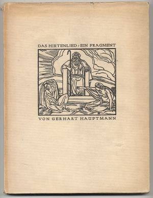 Das Hirtenlied. Ein Fragment. Mit siebzehn Bildern von Ludwig von Hofmann: Hauptmann, Gerhart / ...