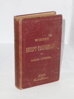 Wiener Recept-Taschenbuch: Czuberka, Karl (Hrgb.)