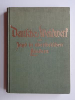 Deutsches Weidwerk und Jagd in überseeischen Ländern: Streer-Streeuwitz, Hans (Geleitwort)