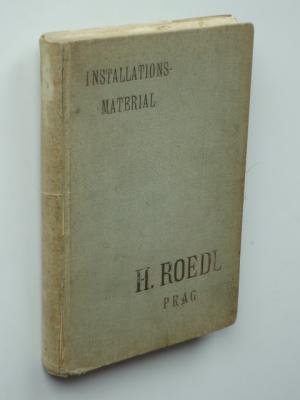 Installations-Material für Wasser-, Gas- und Dampfleitungen sowie sanitäre Einrichtungen.: H.Roedl