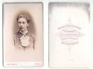 CDV Carte de Visite Foto Porträt Junge: Neumayer, Franz Photograph