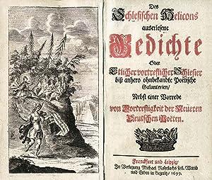 Des schlesischen Helicons auserlesene Gedichte Oder Etlicher