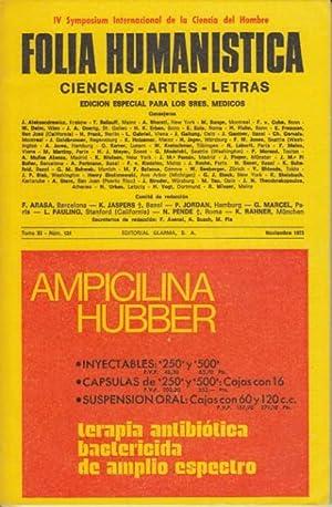 FOLIA HUMANÍSTICA Nº 131 (Los fundamentos de: SCIACCA, M. F.;