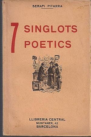 7 singlots poetics-SERAFI PITARRA: PITARRA, SERAFI