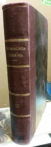 'Zur Theorie der Gesellschaftsspiele'. Pp. 295-320 in: Mathematische Annalen 100 [C].: VON ...