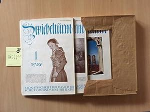 Der Zwiebelturm - Monatsschrift für das bayerische Volk und seine Freunde (13. Jahrgang, Heft 1 bis...