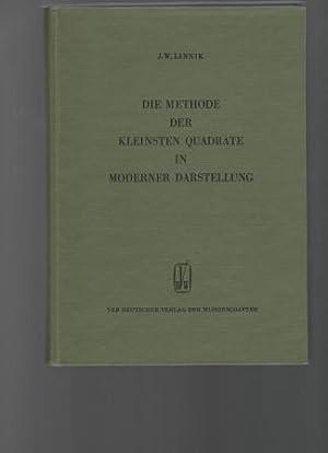 Methode der kleinsten Quadrate in moderner Darstellung. Mathematik für Naturwissenschaft und ...