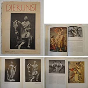 Die Kunst. Monatsschrift für Malerei, Plastik und: Kirchgraber, Paul (Herausgeber