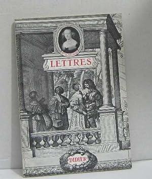 Lettres: Mme De Sévigné