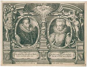 Honori Virtuti. Porträtmedaillons von Kurfürst Maximilian I.: Kilian, Lucas (1579