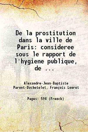 De la prostitution dans la ville de: A. J. B.
