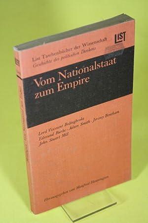 Vom Nationalstaat zum Empire - Englisches politisches: Henningsen, Manfred (Hrsg.)