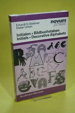 Bild des Verkäufers für Initialien u. Bildbuchstaben/Initials a. Decorative Alphabets zum Verkauf von Der Bücherhof