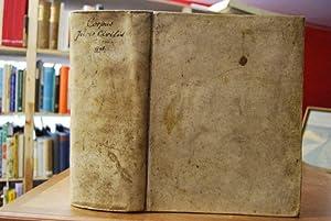 Corpus Juris Civilis Academicum, in suas partes: Freiesleben, Christoph Heinrich:
