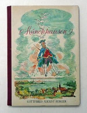 Wunderbare Reisen und Abenteuer des Freiherrn von: Bürger, Gottfried August