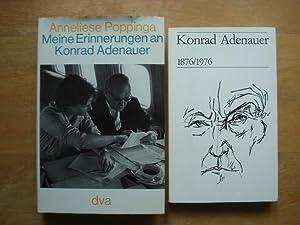 Meine Erinnerungen an Konrad Adenauer: Poppinga, Anneliese