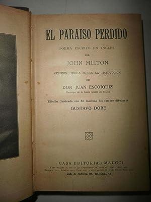 El paraiso perdido (Poema): MILTON, John