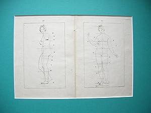 """1 Blatt (2 Seiten) aus: """"Traitè èlèmentaire: Jean Franc. Bosio"""