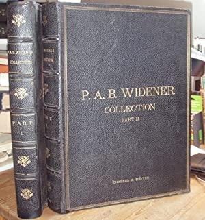 Catalogue of Painting forming the Private Collection of P. A. B. Widener. Asbourne - near ...