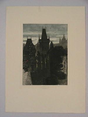 """Kleinseite von Prag("""").: Jakesch, Heinrich:"""