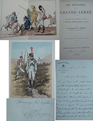 Les Espagnols a la Grande-Armée. Le Corps de la Romana (1807-1808), le Régiment Joseph-Napoléon (...