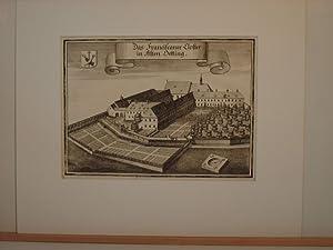 Altötting. `Das Franciscaner Closter in Alten Oetting`.: Wening, Michael: