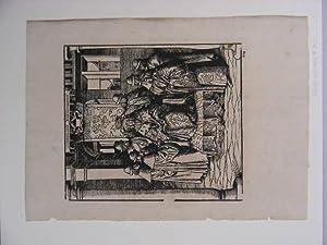 Der heilige Maximilian I. Blatt aus dem Werk Weißkunig.: Beck, Leonhard: