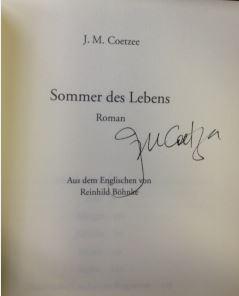 Sommer des Lebens Roman-: Coetzee, J.M.