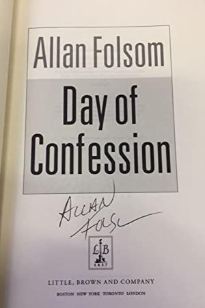 Day of confession. A. novel.