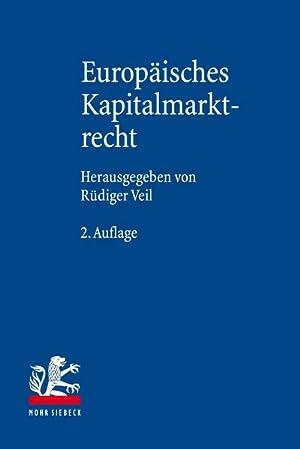 Bild des Verkäufers für Europäisches Kapitalmarktrecht zum Verkauf von AHA-BUCH