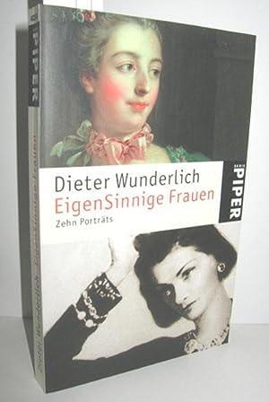 Bild des Verkäufers für EigenSinnige Frauen (Zehn Porträts) zum Verkauf von Antiquariat Zinnober