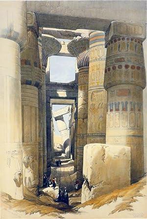 KARNAC [a View Looking Across the Hall: Roberts David; [Egypt]