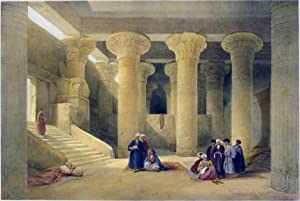 TEMPLE OF ESNEH [Being an Original Hand-Coloured: Roberts David; [Egypt]