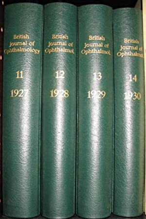 The British Journal of Ophthalmology, incorporating the Royal London Ophthalmic Hospital Reports, ...