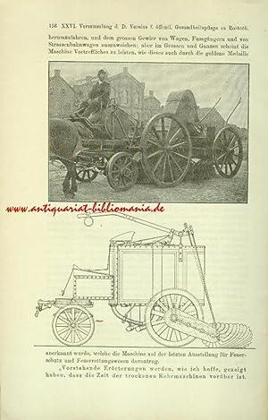 Bericht des Ausschusses über die 26.Versammlung [.] zu Rostock vom 18.bis 20.09.1901. (...