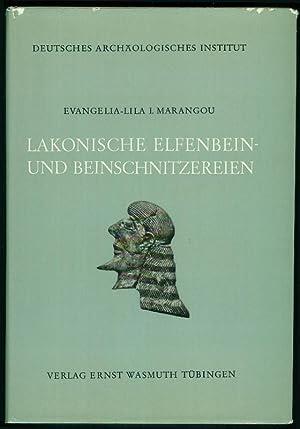 Lakonische Elfenbein- und Beinschnitzereien.: MARANGOU, Evangelia-Lila I.: