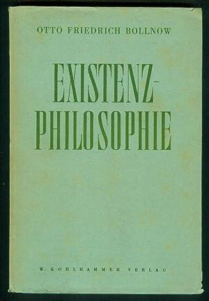 Existenz-Philosophie.: BOLLNOW, Otto Friedrich: