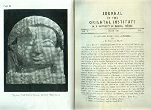 Edited by B.J.Sandesara. Vol. X, No.3. March, 1961.: JOURNAL OF THE ORIENTAL INSTITUTE.
