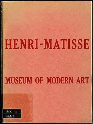 Henri Matisse Retrospektive Exhibition. (Museum of Modern Art. November 3 - December 6, 1931.): ...