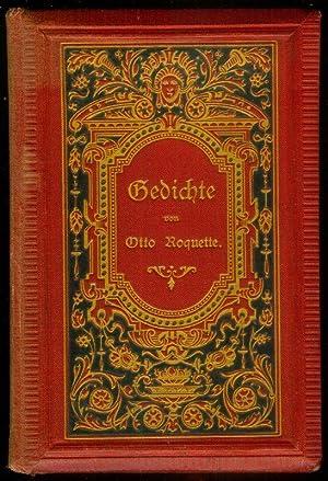 Gedichte. Des Liederbuches zweite, durchaus veränderte und vermehrte Auflage.: ROQUETTE, Otto:
