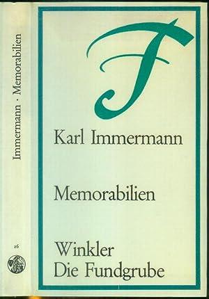 Memorabilien. Nach dem Text der Ausgabe von 1840-44, mit einem Nachwort von Erwin Laaths.: ...