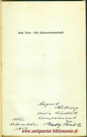 Min Kinner-Wunderland.: THIER, Natz: