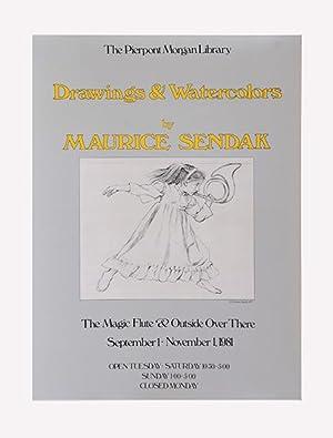 Drawings & Watercolours. [original poster.]: SENDAK, Maurice.